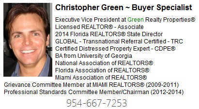Cooper City Realtor - Christopher Green